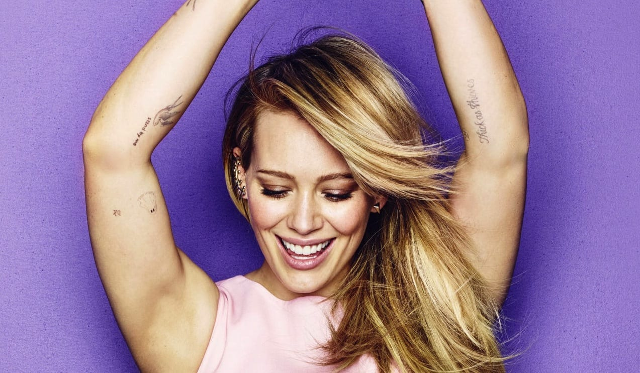 """Hilary Duff """"Sparks"""" Music Comeback With New Pop Single ... Hilary Duff Songs"""